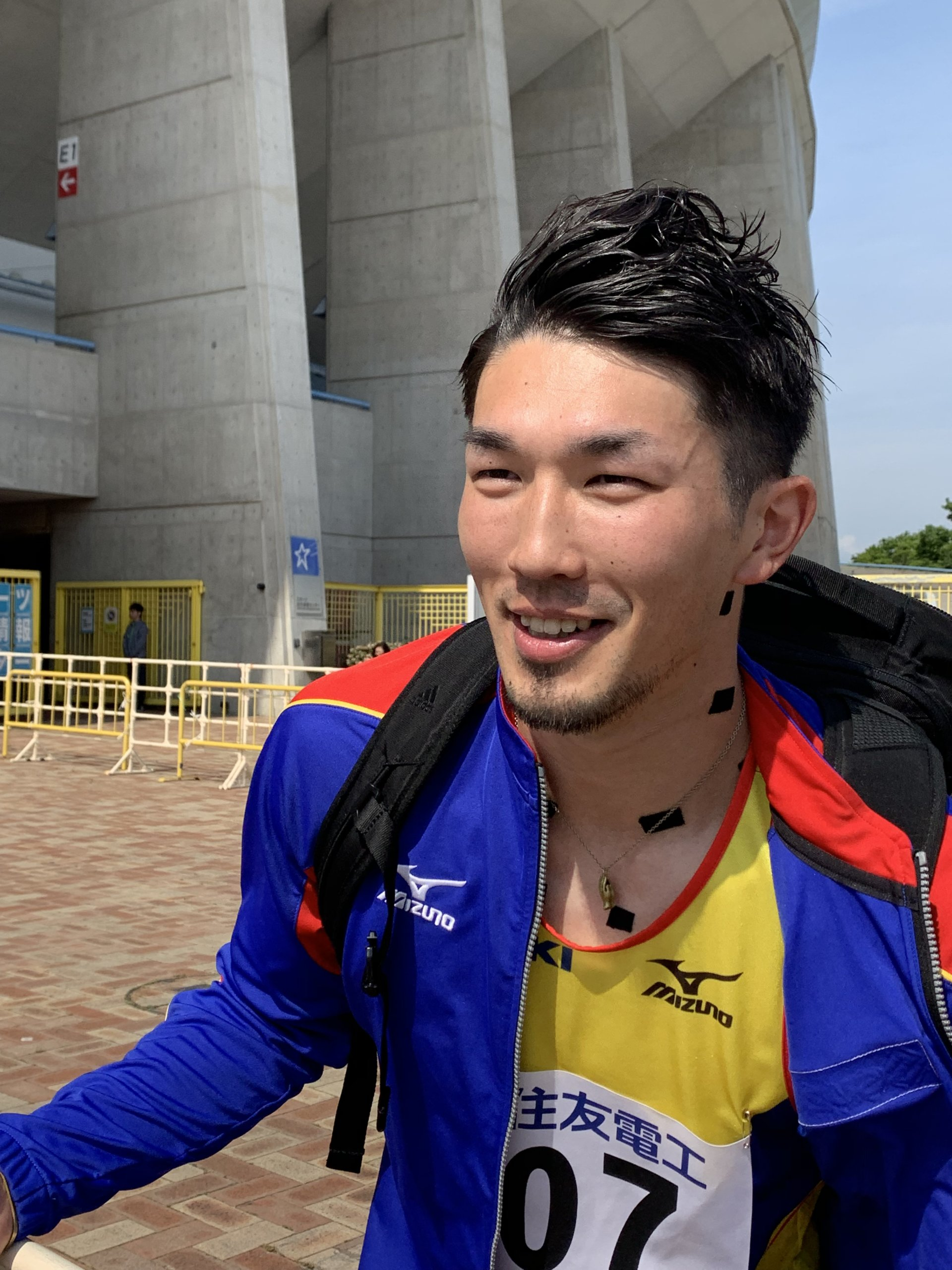 選手写真:原 翔太