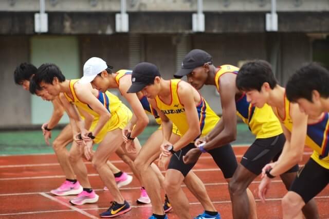 写真:日体大長距離競技会