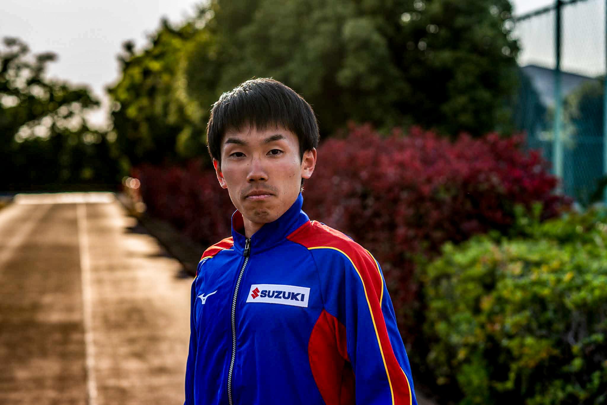 選手写真:室伏 穂高