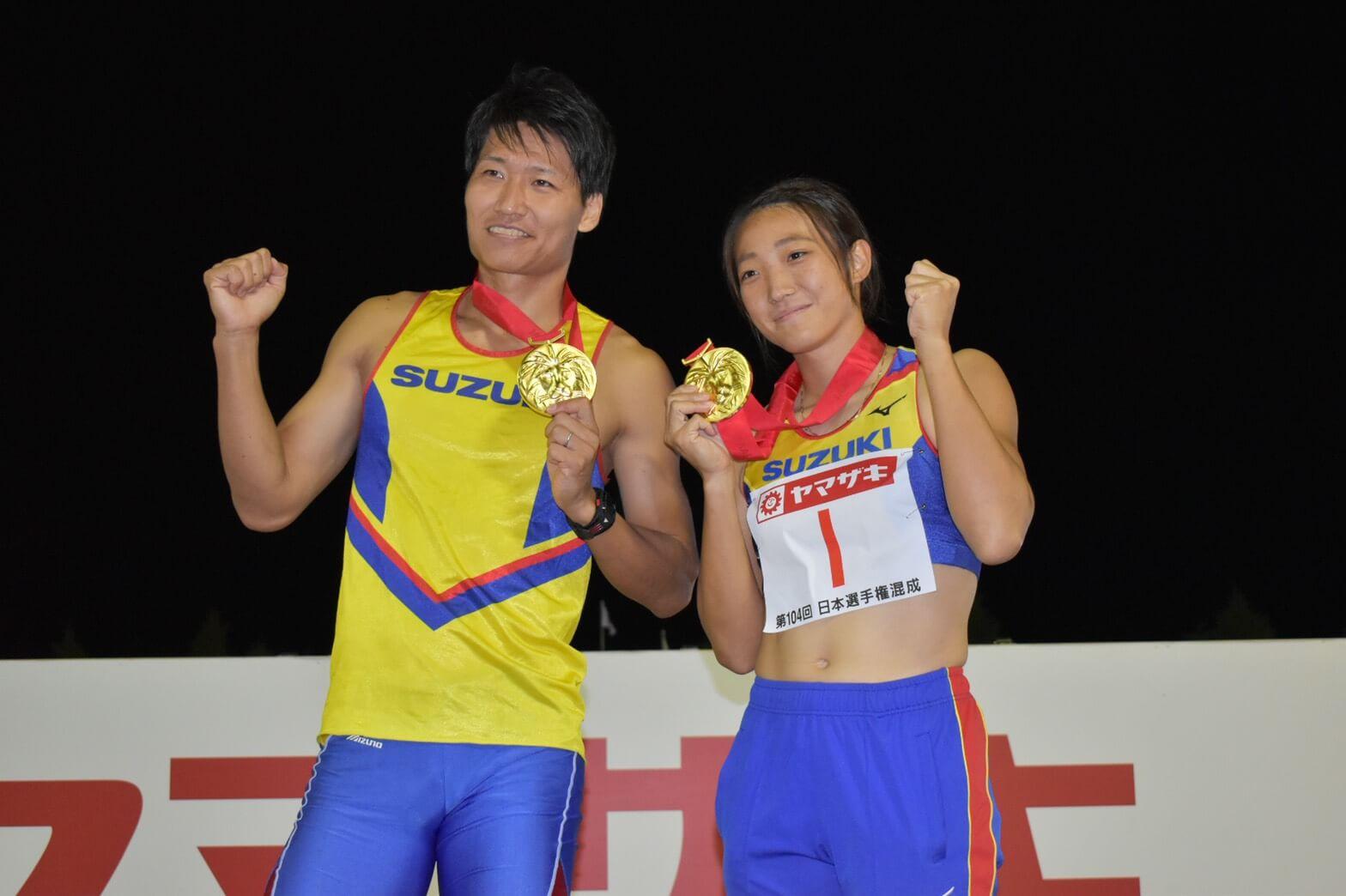 写真:日本選手権・混成競技(9/26〜27)