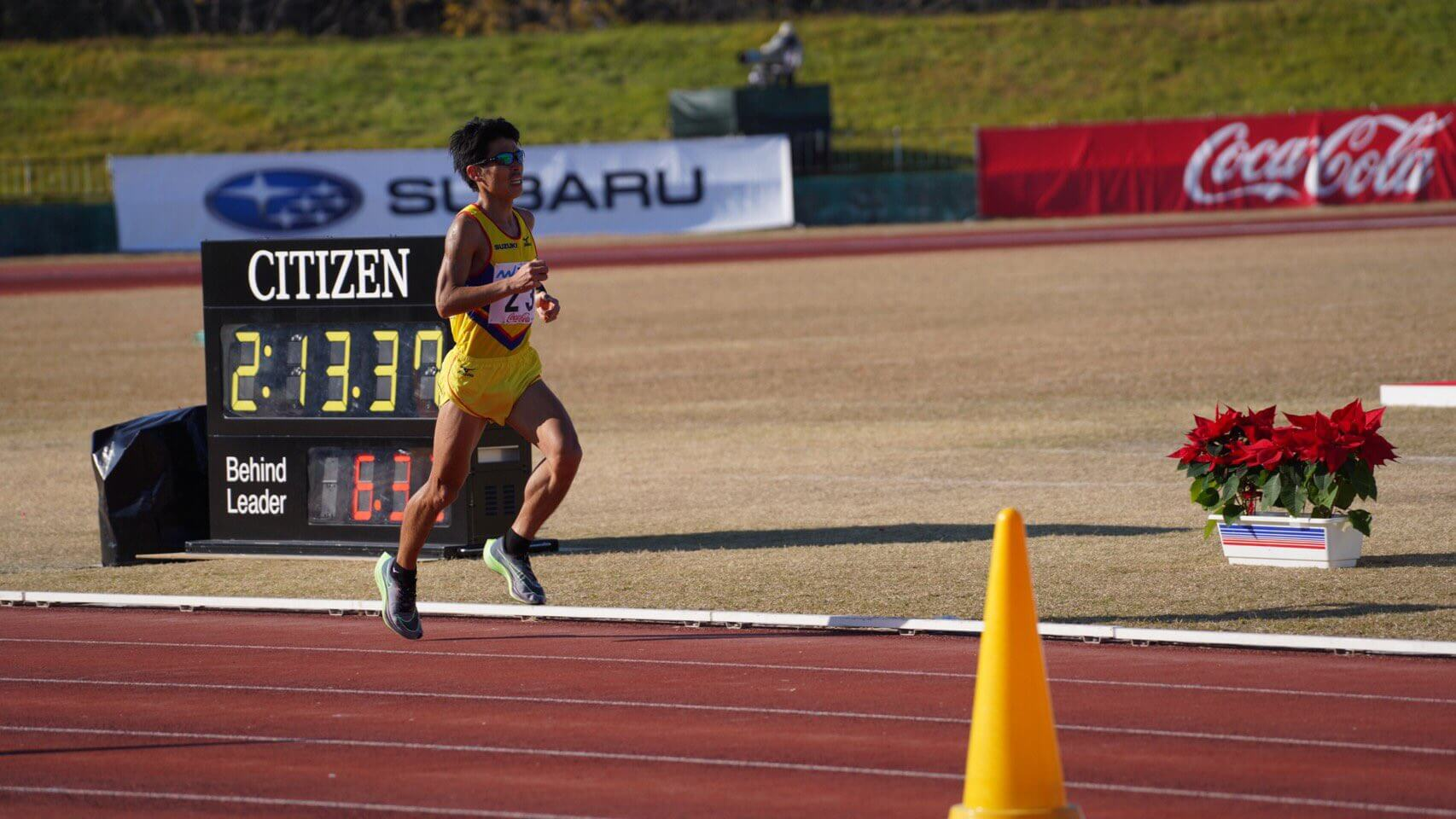 写真:福岡国際マラソン(12/6)