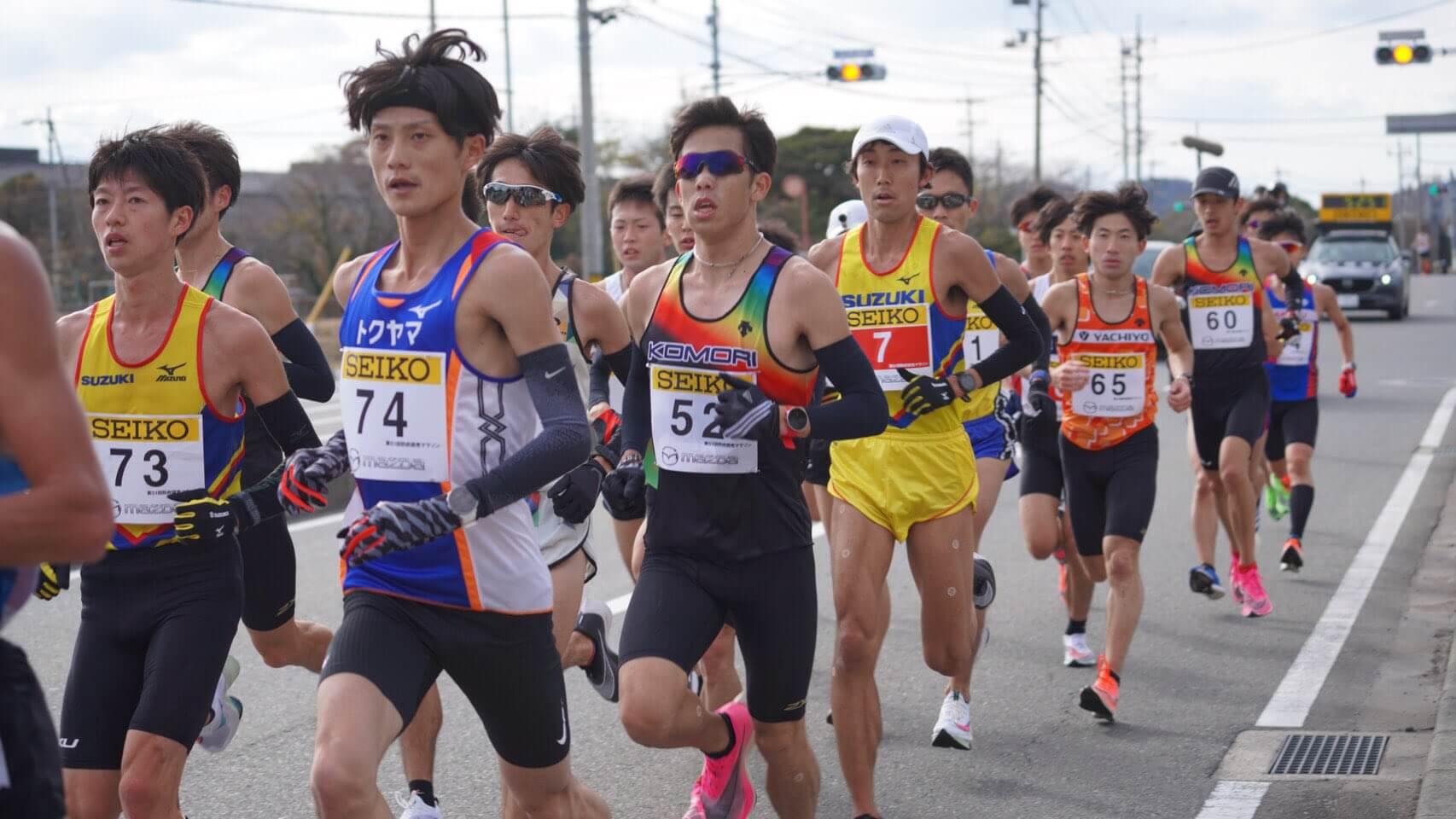 写真:防府読売マラソン(12/20)
