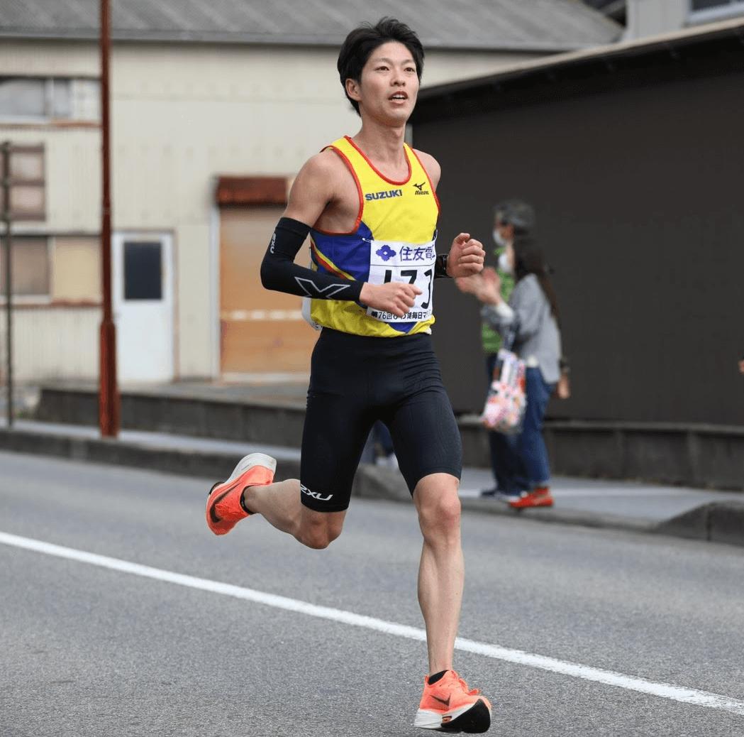 写真:びわ湖毎日マラソン(2/28)