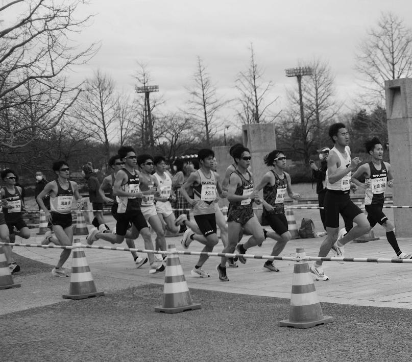 写真:新潟ハーフマラソン