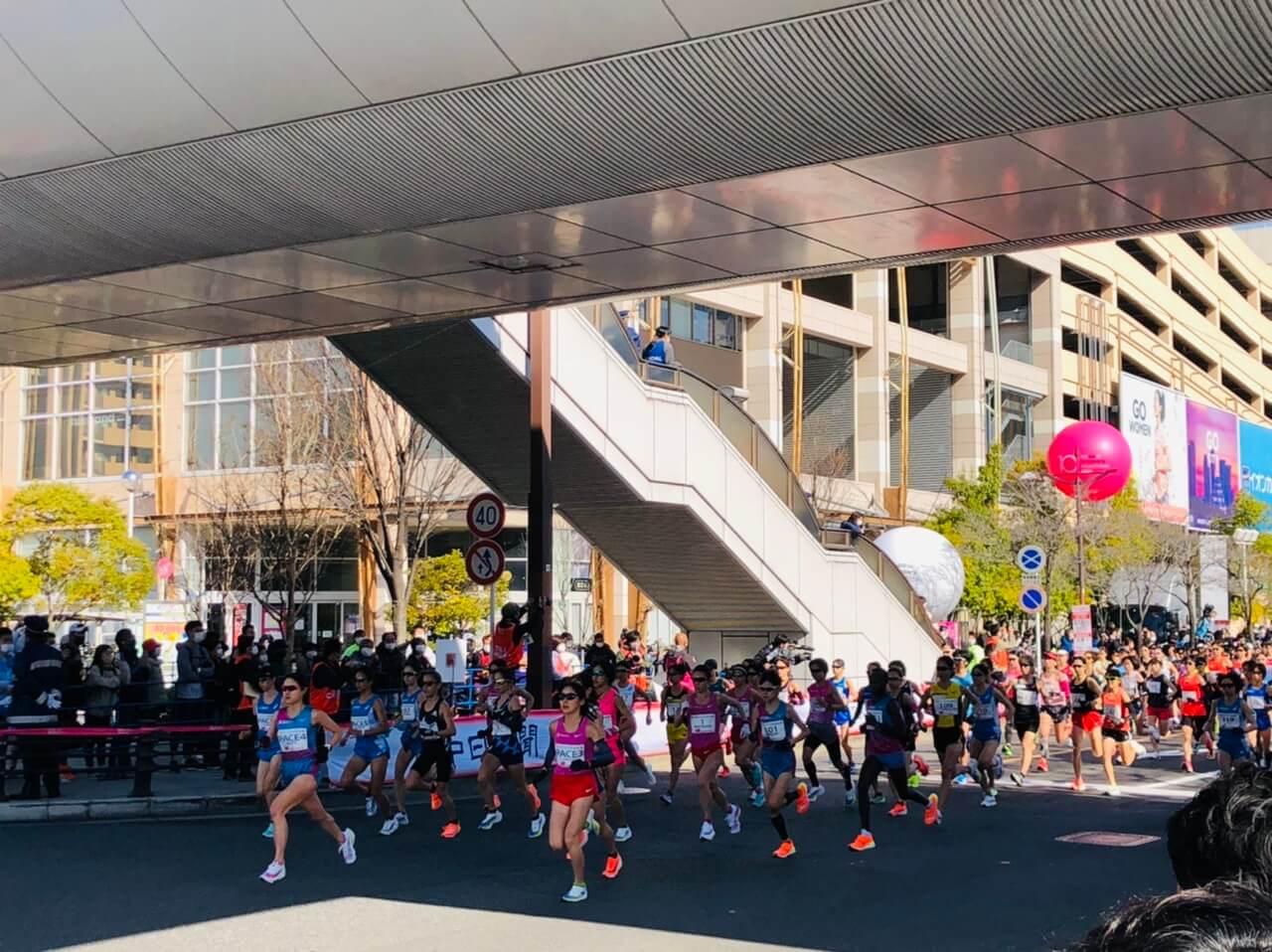 写真:名古屋ウィメンズマラソン2021