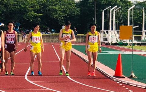 写真:女子マラソン