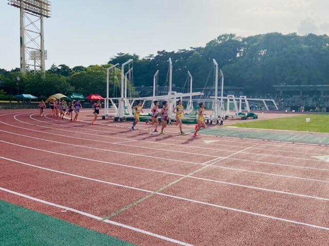 写真:第1回静岡県長距離記録会