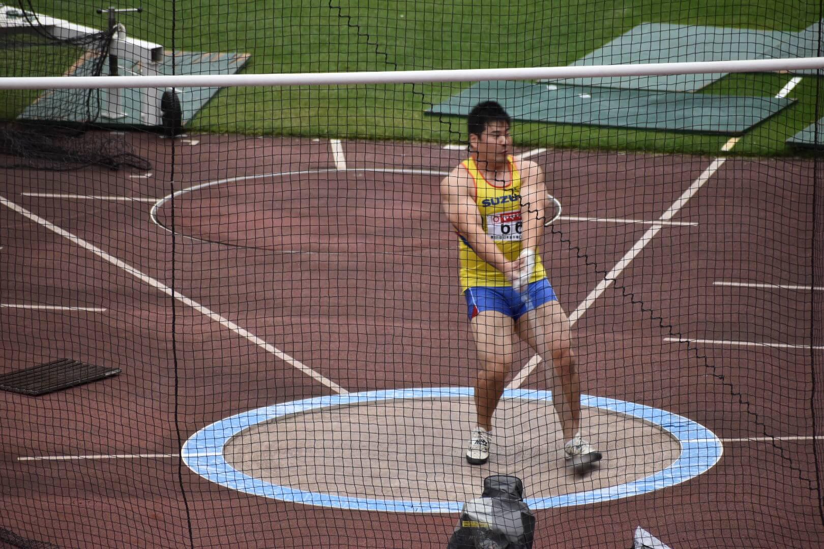 写真:中京大学土曜競技会(6/12)