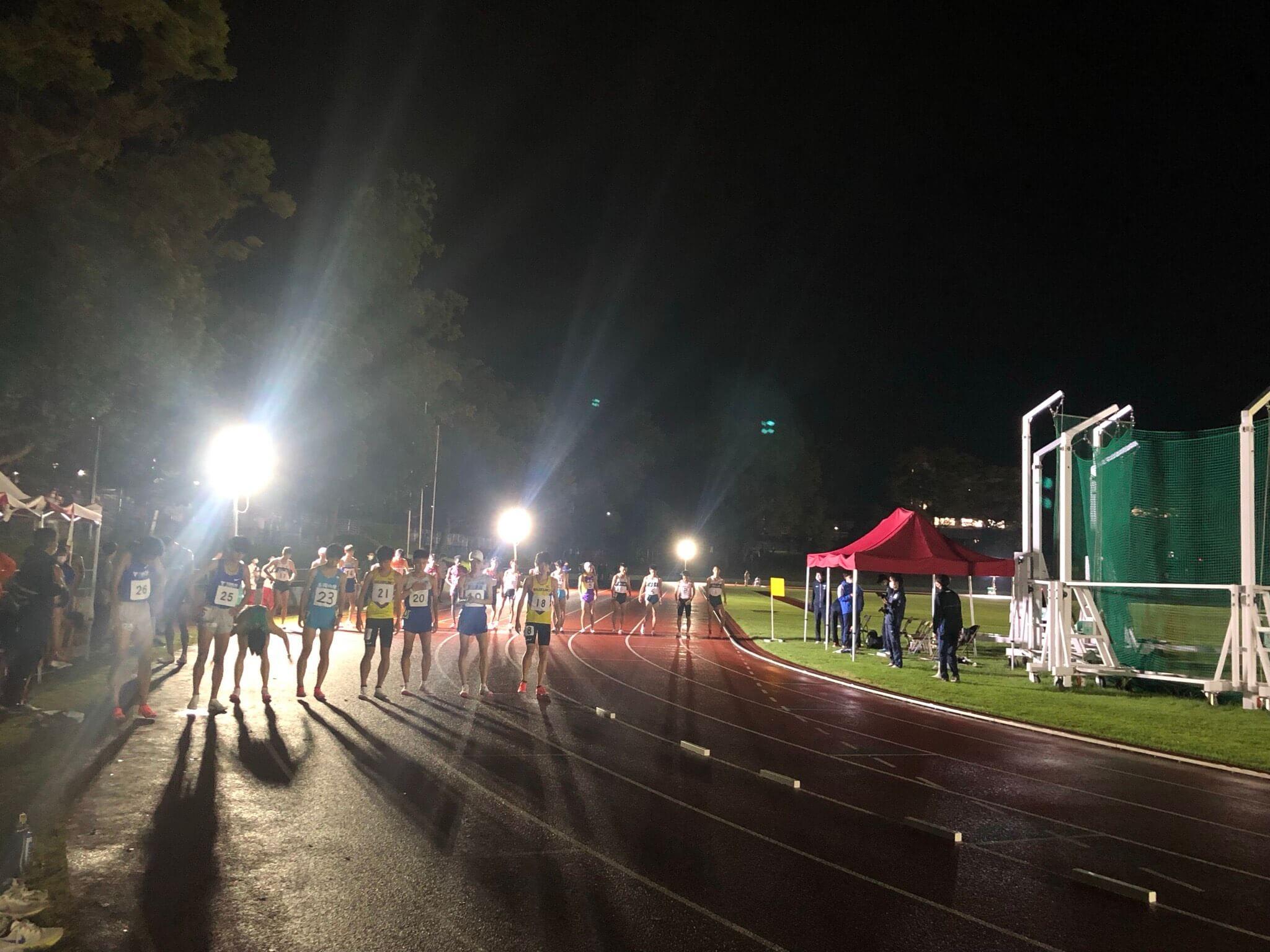 写真:第205回東海大学長距離競技会(9/26)
